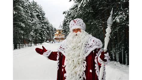 weihnachten innenstadt  russland beschenkt vaeterchen frost
