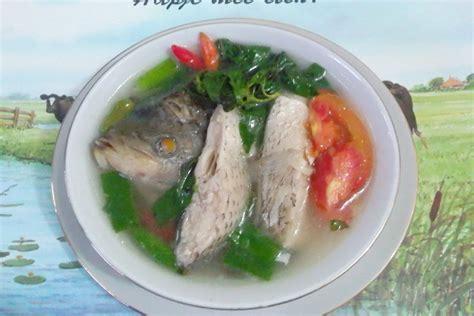 Baik itu anak anak maupun orang tua dan bahkan saat anda sakit masakan paling disarankan tentu sayur sop. Resep Sop Ikan Patin Kemangi - Hijab Converse