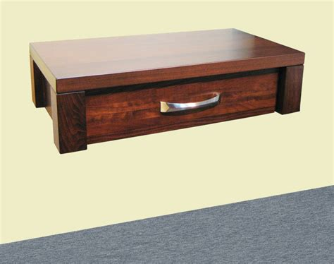 floating nightstand with drawer boxwood floating nightstand made of maple