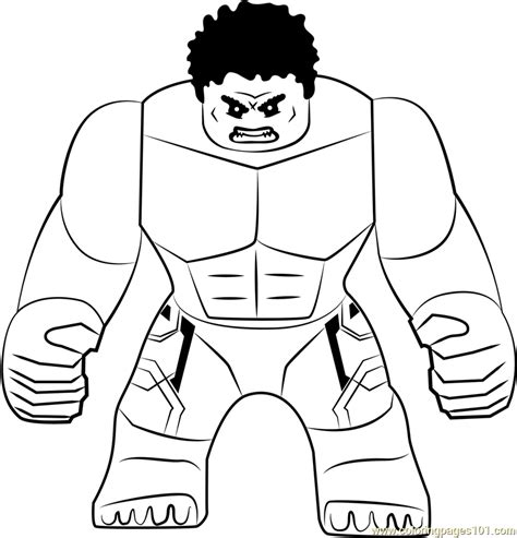 lego  hulk coloring page  lego coloring pages coloringpagescom