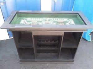 Bar A Roulette : 4 in 1 wooden casino bar game table roulette craps blackjack poker gaming on popscreen ~ Teatrodelosmanantiales.com Idées de Décoration