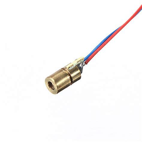 650nm Laser Diode Module 650nm 6mm 5v dc 5mw mini laser dot diode module robu in