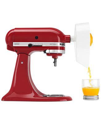 Kitchenaid Mixer Rebate Macys by Kitchenaid Je Juicer Stand Mixer Attachment Small