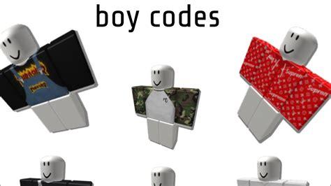 robloxian highschool boy codes youtube