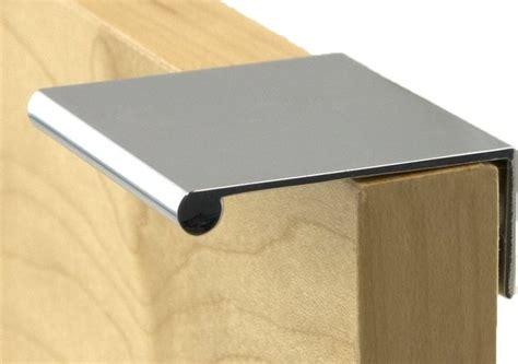 modern kitchen cabinet pulls berenson decorative hardware bravo finger pull in