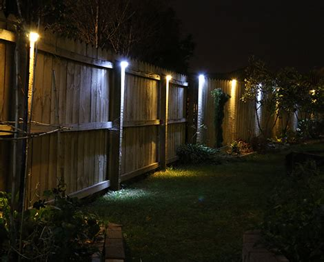 4 Solar Led Fence Lights • Grabone Nz