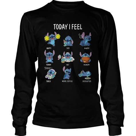 today i feel sweater today i feel shirt hoodie sweater longsleeve t shirt
