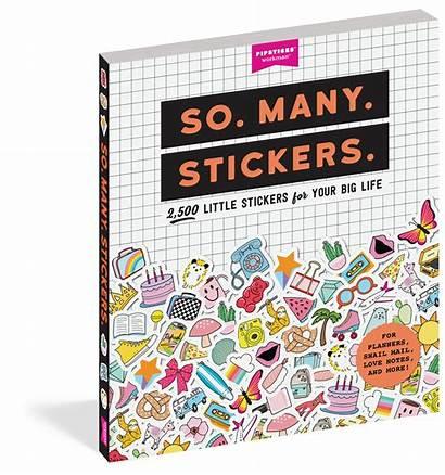 Stickers Many Workman