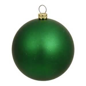 6 inch matte finished uv shatterproof christmas ball green n591504mv