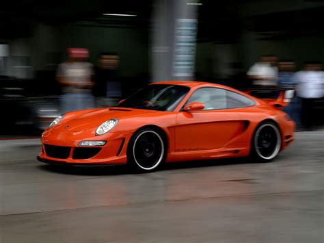 porsche 911 orange mad 4 wheels 2006 gemballa gtr 650 avalanche blood