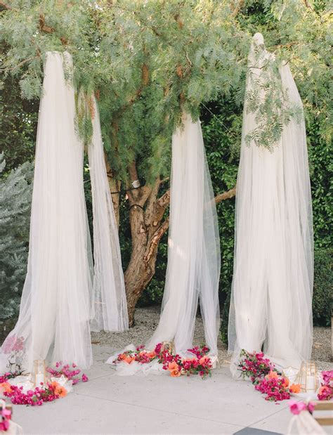 Tree Backdrop For Wedding by 10 Creative Ways To Use Fabric In Your Wedding Ethereal