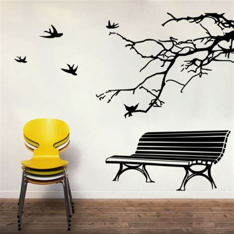 bench and branch wall sticker wcommerce collections