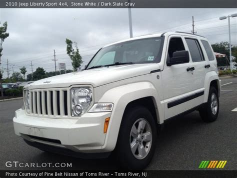 jeep liberty 2010 interior stone white 2010 jeep liberty sport 4x4 dark slate