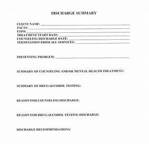 legal medical summary example