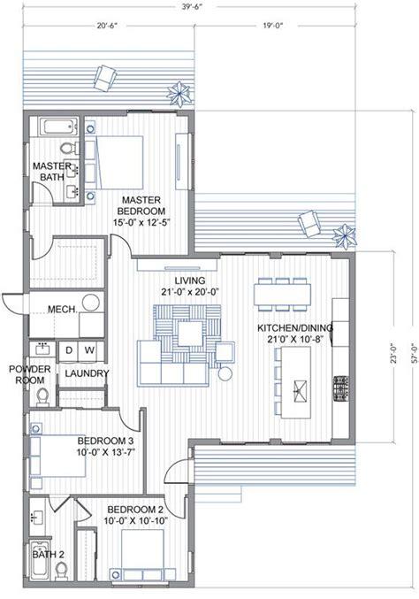 blu homes breeze aire floorplan  bedroom  bath blu