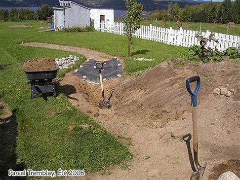ruisseau de jardin construire un ruisseau pour bassin ext 233 rieur
