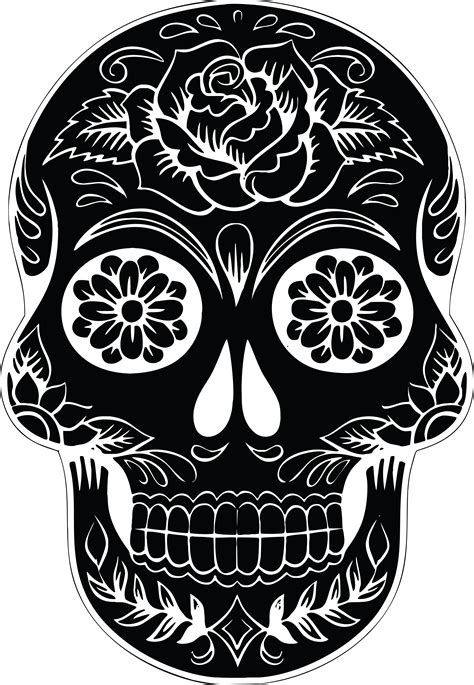 Free Clipart Of A sugar skull