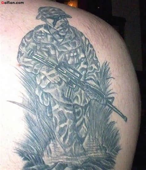 awesome army sniper tattoo design coolest army gun