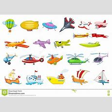 Water Transport 2x2 Flat Design Concept Set Cartoon Vector  Cartoondealercom #87448391