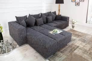 riess ambiente sofa big sofa grau bestseller shop für möbel und einrichtungen