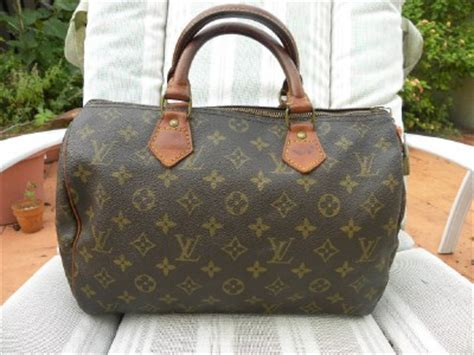 louis vuitton lv monogram speedy doctors vintage bag ebay
