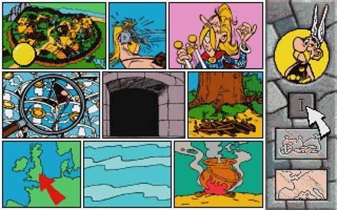 asterix caesars challenge   board game