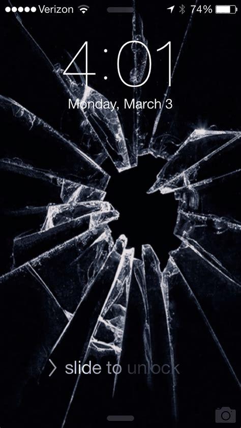 Broken Screen Wallpaper Iphone 6 Plus by 7 Broken Screen Wallpapers For Apple Iphone Best Prank