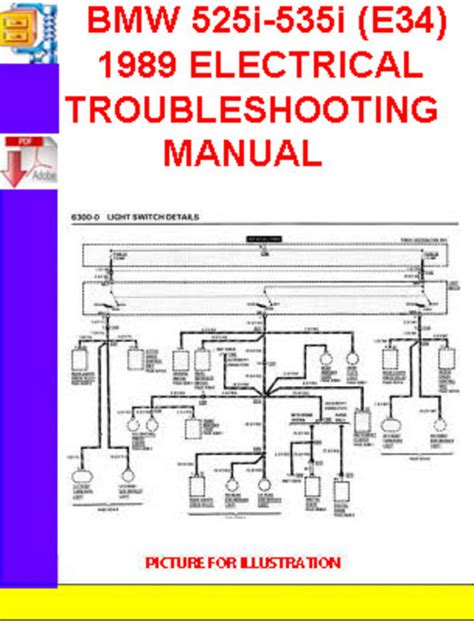 95 Bmw 318i Fuse Box Diagram by Bmw 525i 535i E34 1988 1989 Electrical Troubleshooting