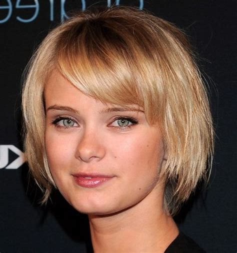 short haircuts for square faces ideas go trends hair