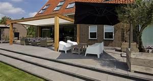 Terrassen Fliesen Großformat : privatterrasse h hendifferenz mit gro format garten schellevis ~ Frokenaadalensverden.com Haus und Dekorationen