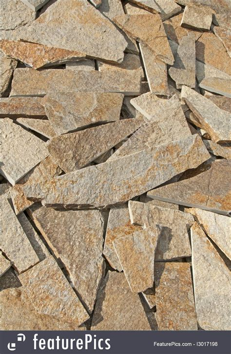 arranged flat stones picture