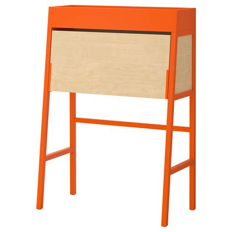 bureau pc ikea ikea ps 2014 bureau orange birch veneer 90x127 cm ikea
