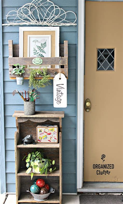 Outdoor Decorating with Junk