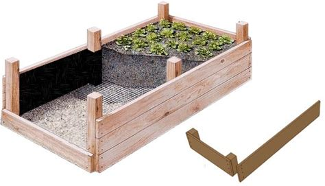 Gemusebeet Balkon Bauen Hochbeet 92x92x80 Cm Holz Bausatz F R Kr