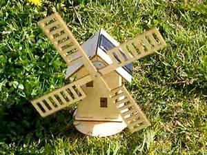 moulin en bois solaire youtube With moulin a vent decoration jardin 1 deco moulin a vent jardin