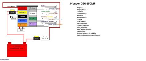 Wiring Diagram For Pioneer Deh X6500bt by Pioneer Deh P4900ib Wiring Diagram Wiring Diagram And