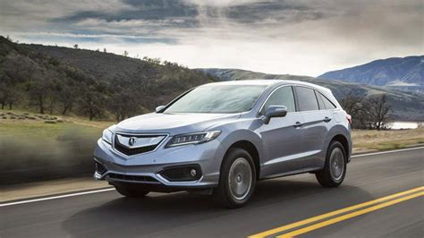 acura rdx awd  advance package review rating