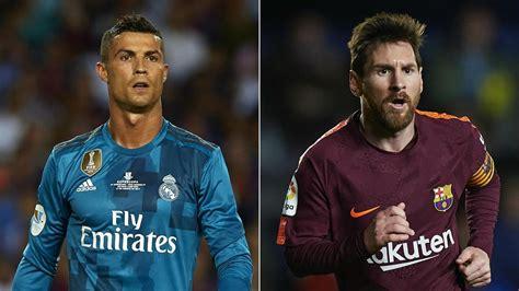 Real Madrid v Barcelona: Ronaldo and Messi's head-to-head ...