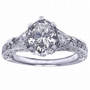 Exquisite vintage engagement ring black diamond ring for In style wedding rings
