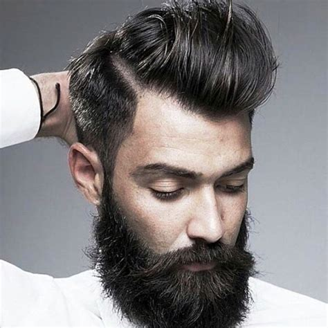 Mens Hairstyles With Beards   Best Hairstyles/Haircuts 2018