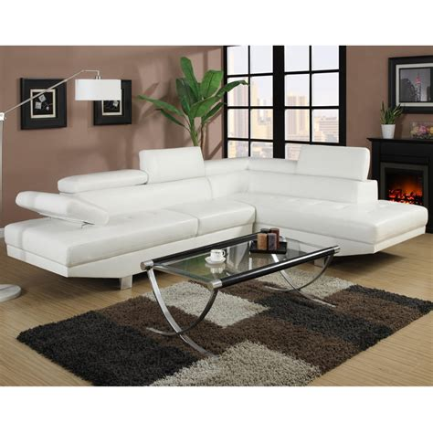 canape cuir angle blanc canape d angle napoli cuir reconstitue blanc droit