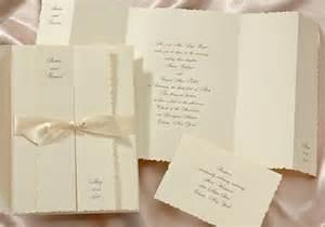 wedding invitations sets wedding invitations with enclosure sets satin bands
