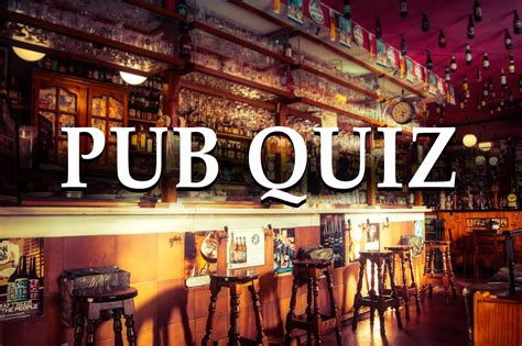 pub quiz questions  answers  play  home