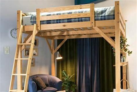 Timbernest Loft Bed by Decoraci 243 N Camas Altas De Matrimonio