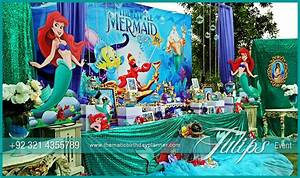 Mermaid Under the Sea Party ideas by Tulips Events in Pakistan