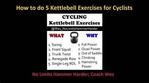 cyclists kettlebell