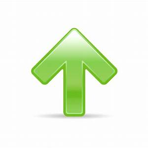 arrow_up_3, green, arrow, up, upload, icon, 256x256 ...