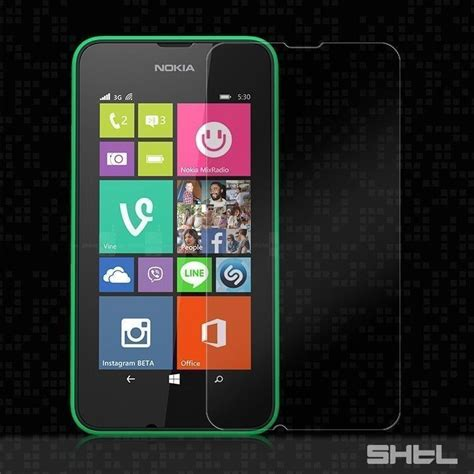 dr vaku 174 nokia lumia 530 ultra thin 0 2mm 2 5d curved edge tempered glass screen protector