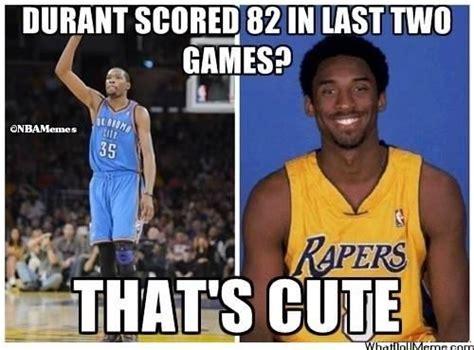 Nba Memes Funny - kobe bryant vs kevin durant http weheartnyknicks com nba funny meme kobe bryant vs kevin