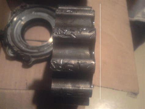 identify foreign debris  engine oilpumplow pressure pump ford powerstroke
